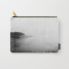 Surfer Standing on the Beach Carry-All Pouch