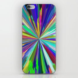 color wheel 06 iPhone Skin