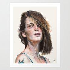 Brave (Lulu Lovering) Art Print