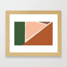 Vintage Palette Number 1 Framed Art Print