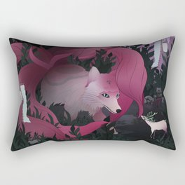 Spirits of the forest Rectangular Pillow