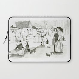 Seurat Sunday Afternoon Laptop Sleeve