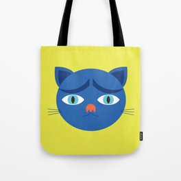 Troubled Cat Tote Bag