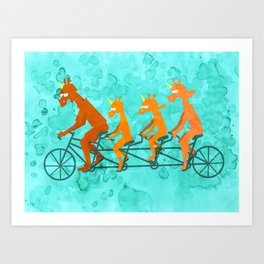 Father's Day Ride Art Print