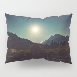 Moonshine, Stars and Nature Pillow Sham