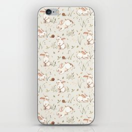 Blossom Bunny iPhone Skin