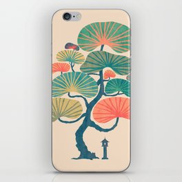 Japan garden iPhone Skin