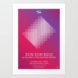 Zun Zun Egui Art Print