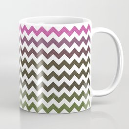 Pink Roses in Anzures 3 Chevron 1T Coffee Mug