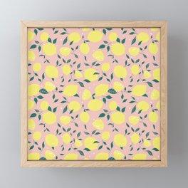 Squeeze a Lemon Framed Mini Art Print