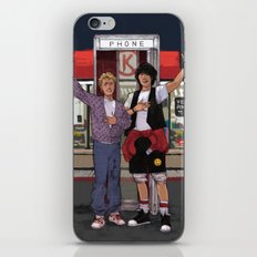 Be Excellent to Each Other iPhone & iPod Skin