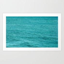 Ocean Calm Waves Art Print