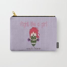 Fight Like a Girl - The King of Fighters' Orochi Leona Carry-All Pouch