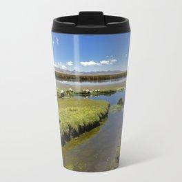 Shores of Lake Travel Mug