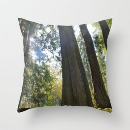 Tree Tree Tree Throw Pillow