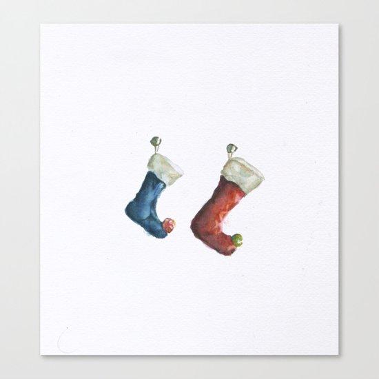 Stockings  Canvas Print