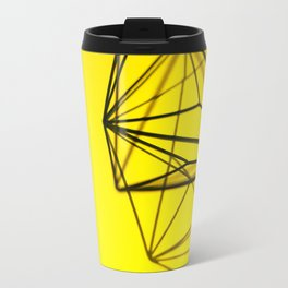 Yellow shape Travel Mug
