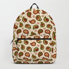 Cat Paisley - Christmas - v2 Backpack