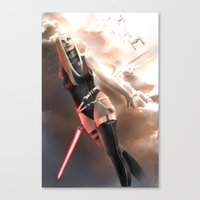 sith Canvas Prints featuring Sith by R.Atkins