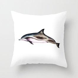 Clymene Dolphin Throw Pillow