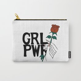 GRL PWR Rose Carry-All Pouch
