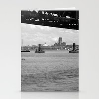 liverpool Stationery Cards featuring Liverpool - An Alternative View by Caroline Benzies Photography