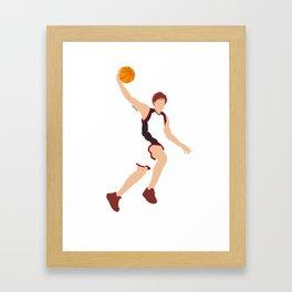 Meteor Slam (simple version) Framed Art Print