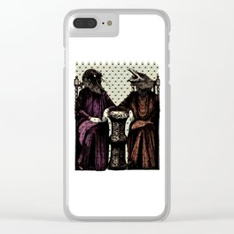 Crow ladies Clear iPhone Case