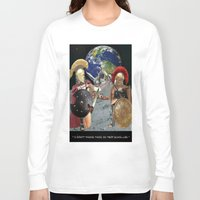 caleb troy Long Sleeve T-shirts featuring TROY by LIGGYZIGHAT