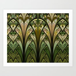 When The West Wind Blows Art Print