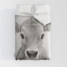Calf - Black & White Comforters