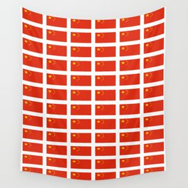 flag of china -中国,chinese,han,柑,Shanghai,Beijing,confucius,I Ching,taoism. Wall Tapestry