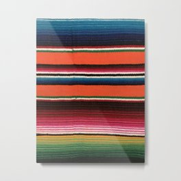 BEAUIFUL MEXICAN SERAPE Metal Print