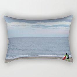 Patient Surfer Rectangular Pillow