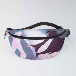 Rainbow Witch at Home Fanny Pack