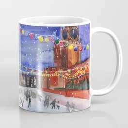 Red square. Winter Moscow Coffee Mug