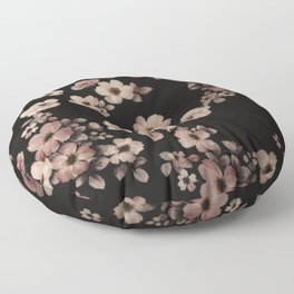 FLORAL PINK CHERRY BLOSSOM Floor Pillow