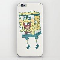 spongebob iPhone & iPod Skins featuring Spongebob Squarepants by gem ☮