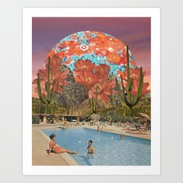 Ranch Days Art Print