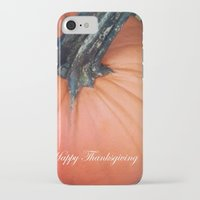 thanksgiving iPhone & iPod Cases featuring Happy Thanksgiving! by Colleen G. Drew