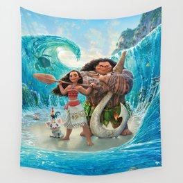 Moana 2 Wall Tapestry