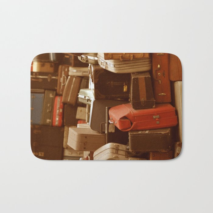 TOWER OF LUGGAGE Bath Mat