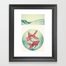 Goldfishes Framed Art Print