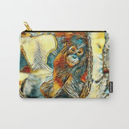 AnimalArt_OrangUtan_20170605_by_JAMColorsSpecial Carry-All Pouch