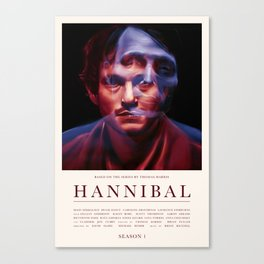 Hannibal - Season 1 Canvas Print
