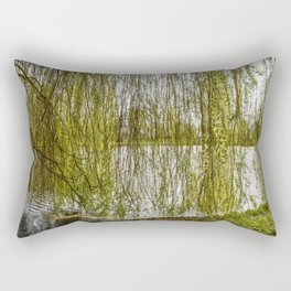 Nature Tree Under the Weeping Soil Rectangular Pillow