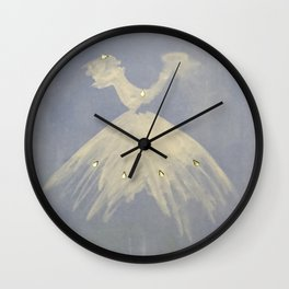 Ballerina Retro Wall Clock