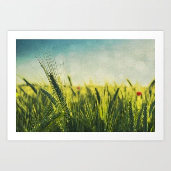 summer reigns Art Print