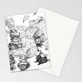Let's work together Stationery Cards