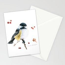 Christmas Chickadee by Teresa Thompson Stationery Cards